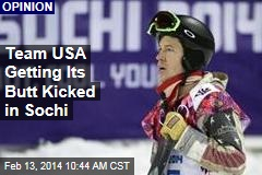 US Athletes Getting Their Butts Kicked in Sochi