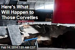 Here's What Will Happen to Those Corvettes