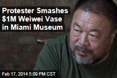 Protester Smashes $1M Weiwei Vase in Miami Museum