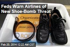 Feds Warn Airlines of New Shoe-Bomb Threat