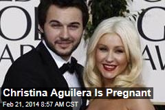 Christina Aguilera Is Pregnant