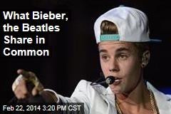 Justin Bieber Rhymed Same Words as ... the Beatles