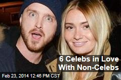 6 Celebs in Love With Non-Celebs
