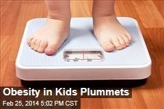 Obesity in Kids Plummets