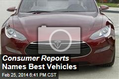 Consumer Reports Names Best Vehicles