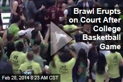 Brawl Erupts on Court After Wolverines Beat Aggies