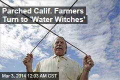 Parched Calif. Farmers Turn to 'Water Witches'