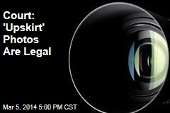 Court: 'Upskirt' Photos Are Legal
