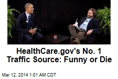 """Between Two Ferns' Gives HealthCare.gov Big Boost"