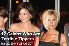 12 Celebs Who Are Terrible Tippers