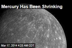 Mercury Is Getting Smaller