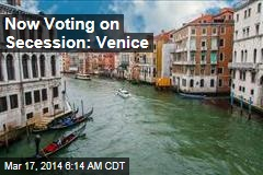 Venice Votes on Independence