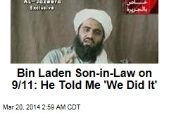 Bin Laden Son-in-Law Describes 9/11 Cave Meeting
