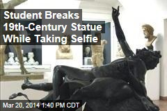 Student Breaks 19th-Century Statue While Taking Selfie