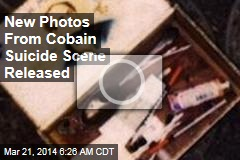 New Photos From Cobain Suicide Scene Released