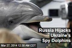Russia Hijacks Ukraine's Spy Dolphins