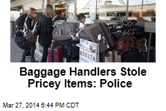 LA Cops Bust Baggage Handlers for Theft