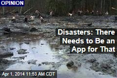 Disasters: There Needs to Be an App for That