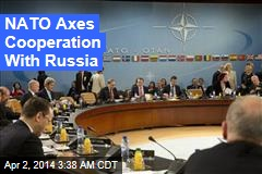 NATO: No More Cooperation With Russia