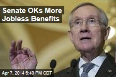 Senate OKs More Jobless Benefits