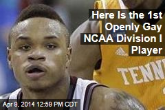 Here Is the 1st Openly Gay NCAA Division I Player