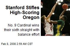 Stanford Stifles High-Scoring Oregon