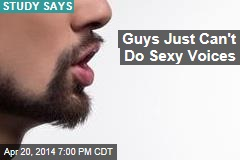 Guys Just Can't Do Sexy Voices