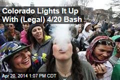 Colorado Lights It Up With (Legal) 4/20 Bash