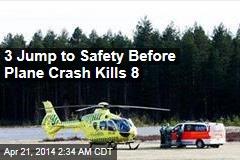 Plane Crash Kills 8 Skydivers