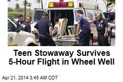 Teen Stowaway Survives Calif.-Hawaii Flight in Wheel Well