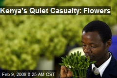 Kenya's Quiet Casualty: Flowers