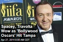 Spacey, Travolta Wow as 'Bollywood Oscars' Hit Miami