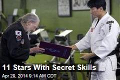 11 Stars With Secret Skills