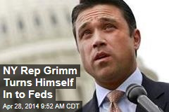 NY Rep Grimm Turns Himself In to Feds