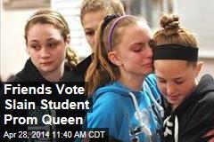 Friends Vote Slain Student Prom Queen