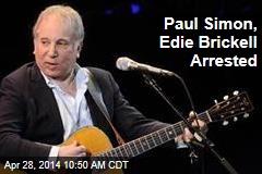Paul Simon, Edie Brickell Arrested