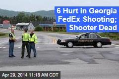 6 Hurt in Shooting at Ga. FedEx; Shooter at Large