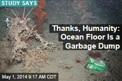 Thanks, Humanity: Ocean Floor Is a Garbage Dump