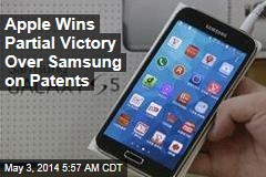 Apple Wins Partial Victory Over Samsung on Patents
