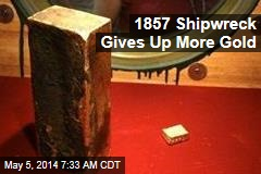 1857 Shipwreck Gives Up More Gold