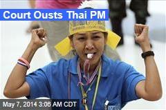 Court Ousts Thai PM