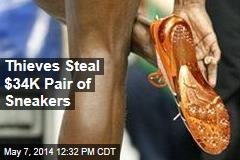 Thieves Steal $34K Pair of Sneakers