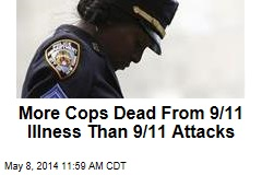 More Cops Dead From 9/11 Illness Than 9/11 Attacks