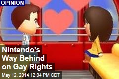 Nintendo's Way Behind on Gay Rights