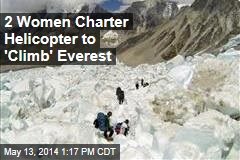 First Climbers Back on Everest —Sort of