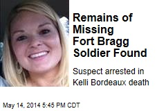 Remains of Missing Fort Bragg Soldier Found