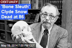 'Bone Sleuth' Clyde Snow Dead at 86