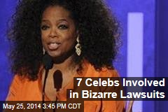7 Celebs Involved in Bizarre Lawsuits