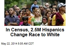 In Census, 2.5M Hispanics Change Race to White