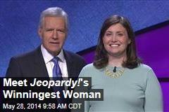 Meet Jeopardy! 's Winningest Woman